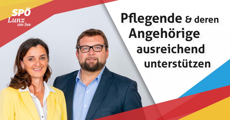 Pflegende und deren Angehörige ausreichend unterstützen - SPÖ Lunz am See