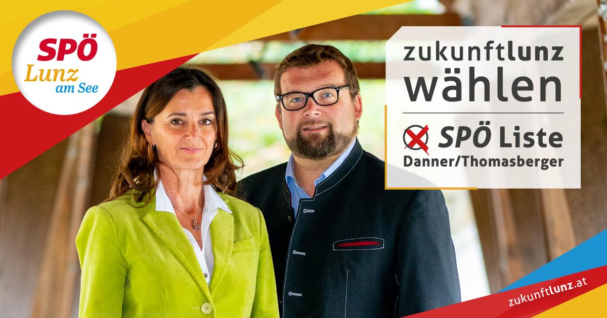26. Jänner 2020 - Gemeinderatswahl in Lunz am See: Liste Danner/Thomasberger