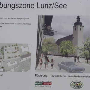Baustart Begegnungszone
